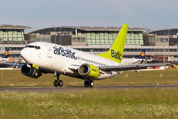 YL-BBE - Air Baltic Boeing 737-500