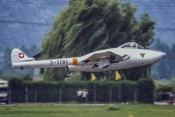 J-1191 - Switzerland - Air Force de Havilland DH.100 Vampire FB.6