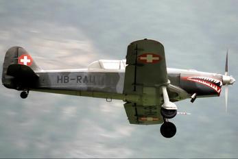 HB-RAU - Private Pilatus P-2