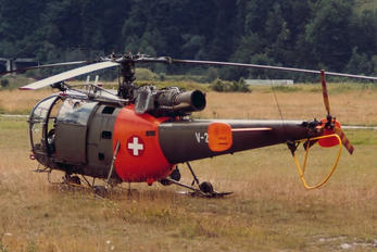 V-261 - Switzerland - Air Force Sud Aviation SA-316 Alouette III