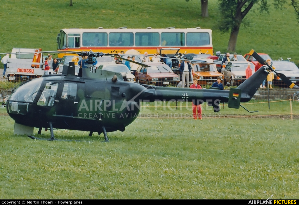Germany - Army 80+38 aircraft at Off Airport - Hütten ZH