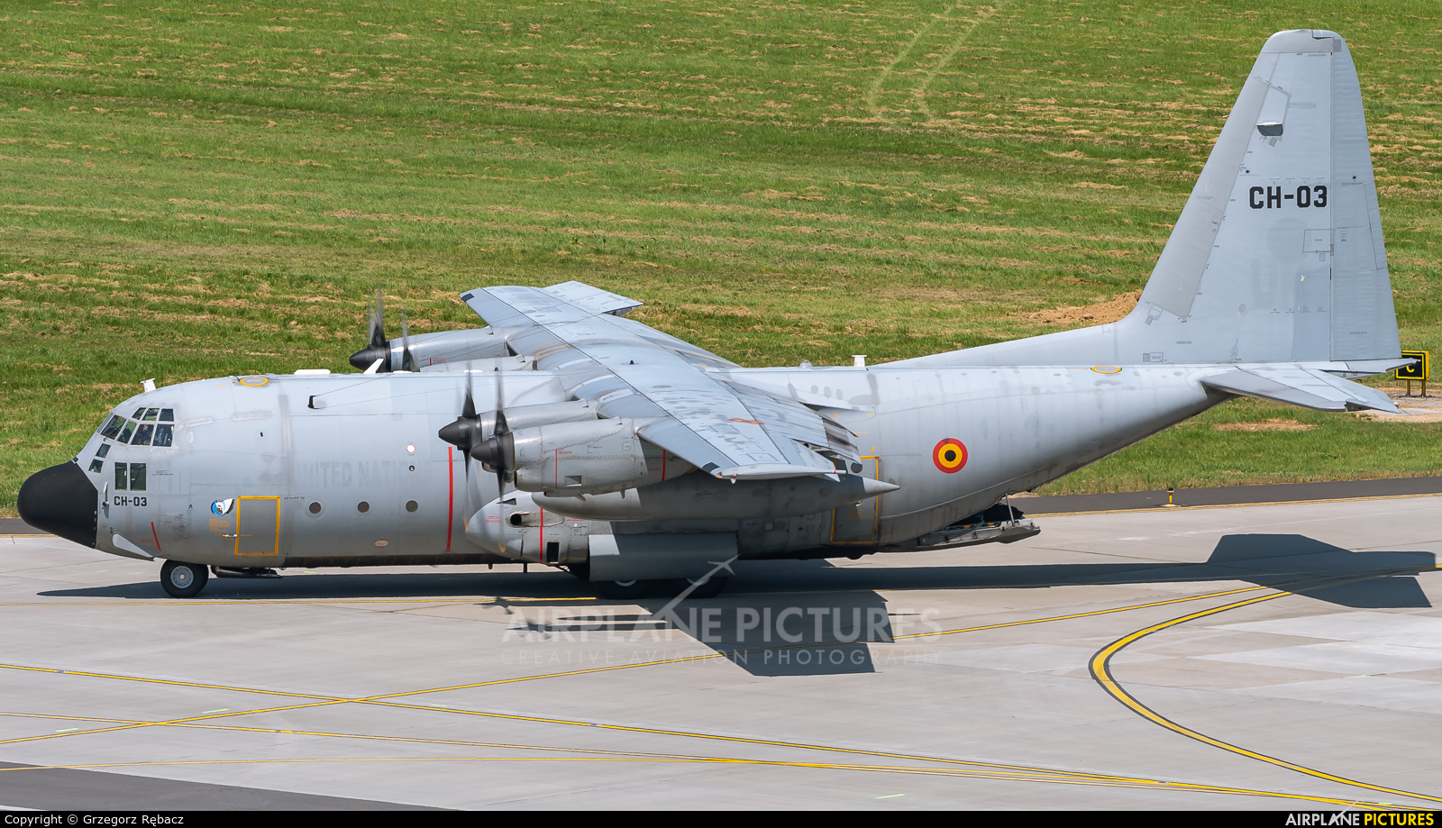 Belgium - Air Force CH-03 aircraft at Kraków - John Paul II Intl