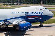 Rare visit of SilkWay Boeing 747-400F to Zurich title=
