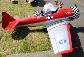 N4109C - Private North American Harvard/Texan (AT-6, 16, SNJ series)
