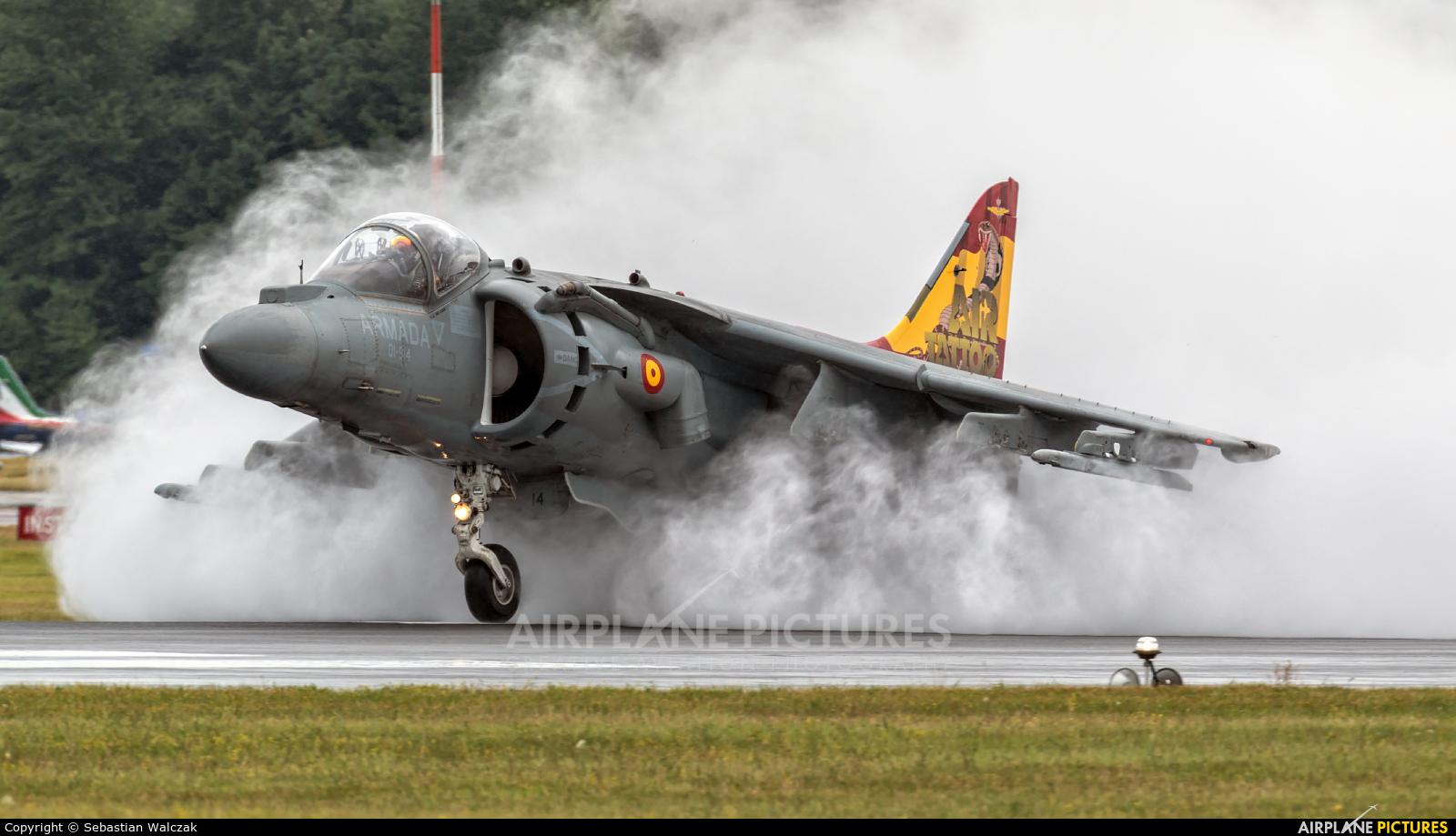 Spain - Navy VA.1B-24 aircraft at Fairford