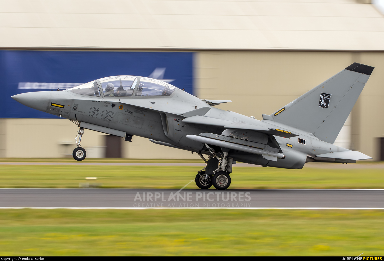 Italy - Air Force MM55213 aircraft at Fairford