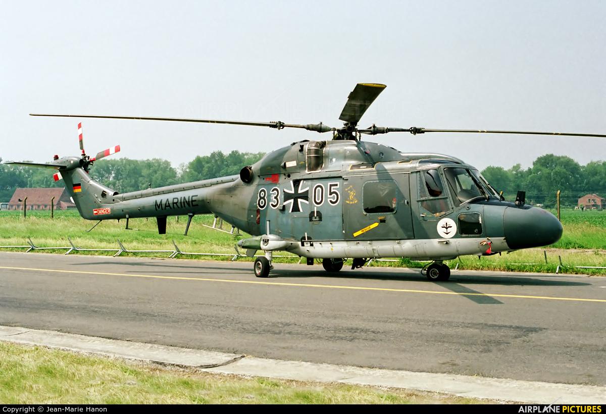 Germany - Navy 83+05 aircraft at Koksijde