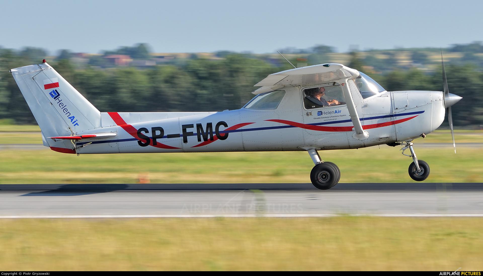 HelenAir SP-FMC aircraft at Katowice - Pyrzowice