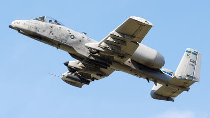 81-0992 - USA - Air Force Fairchild A-10 Thunderbolt II (all models)