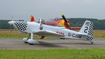 G-CJSM - Team Raven Vans RV-8 aircraft
