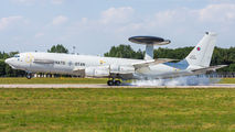 Boeing E-3A Sentry visited Pardubice during crew training title=