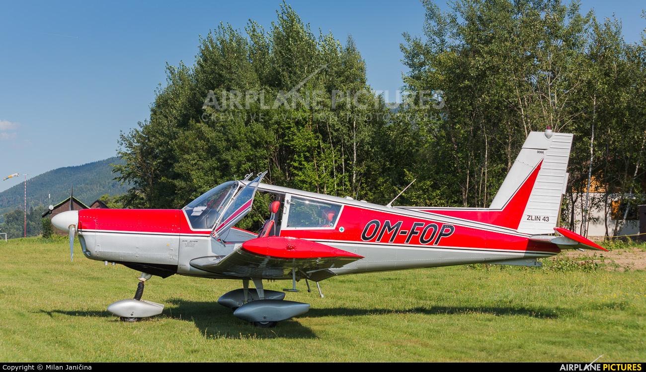 Private OM-FOP aircraft at Letiště Frýdlant nad Ostravicí