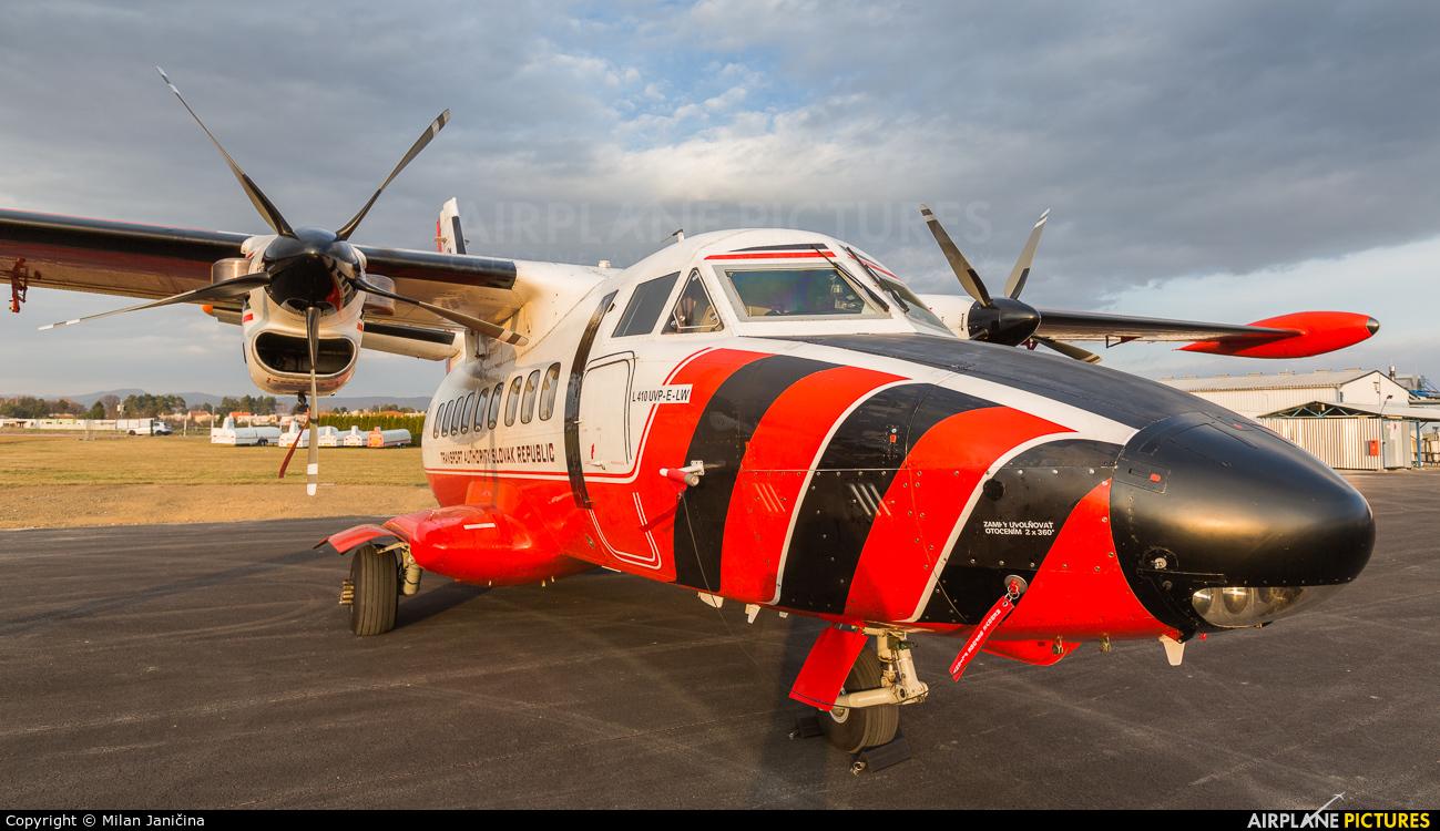 Slovakia - Civil Aviation Authority OM-SYI aircraft at Prievidza