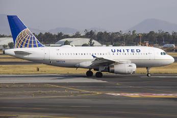 N817UA - United Airlines Airbus A319