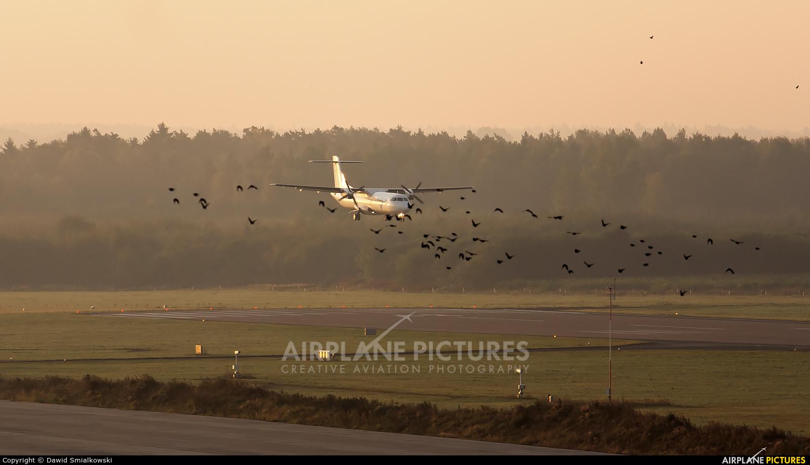 - Airport Overview  aircraft at Szczecin - Goleniów