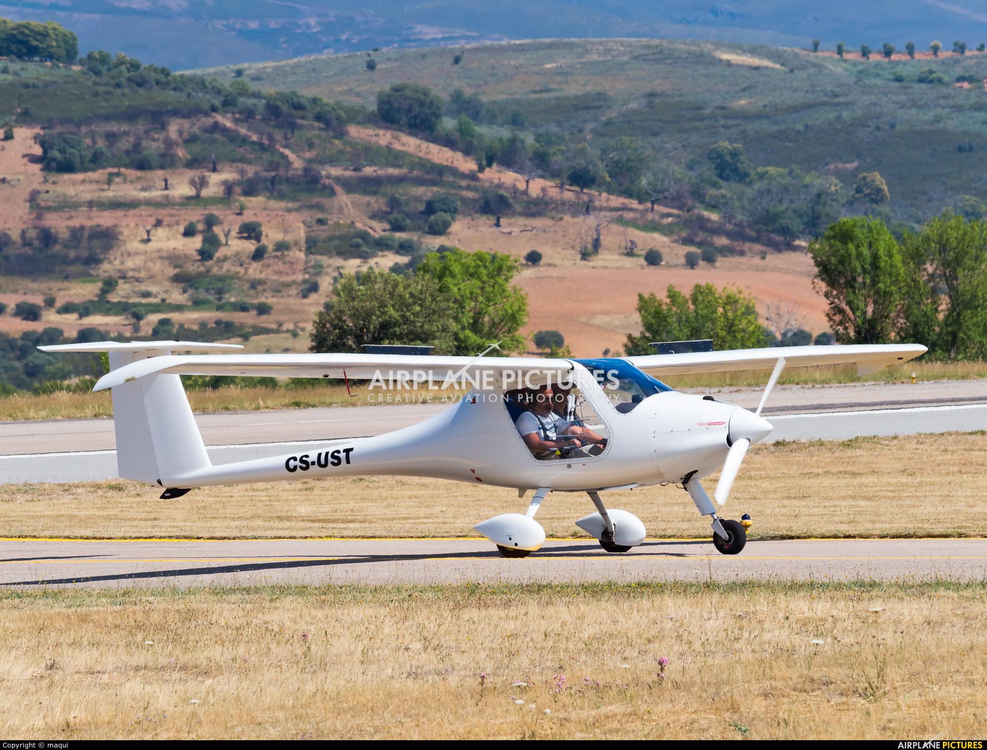 Private CS-UST aircraft at Bragança
