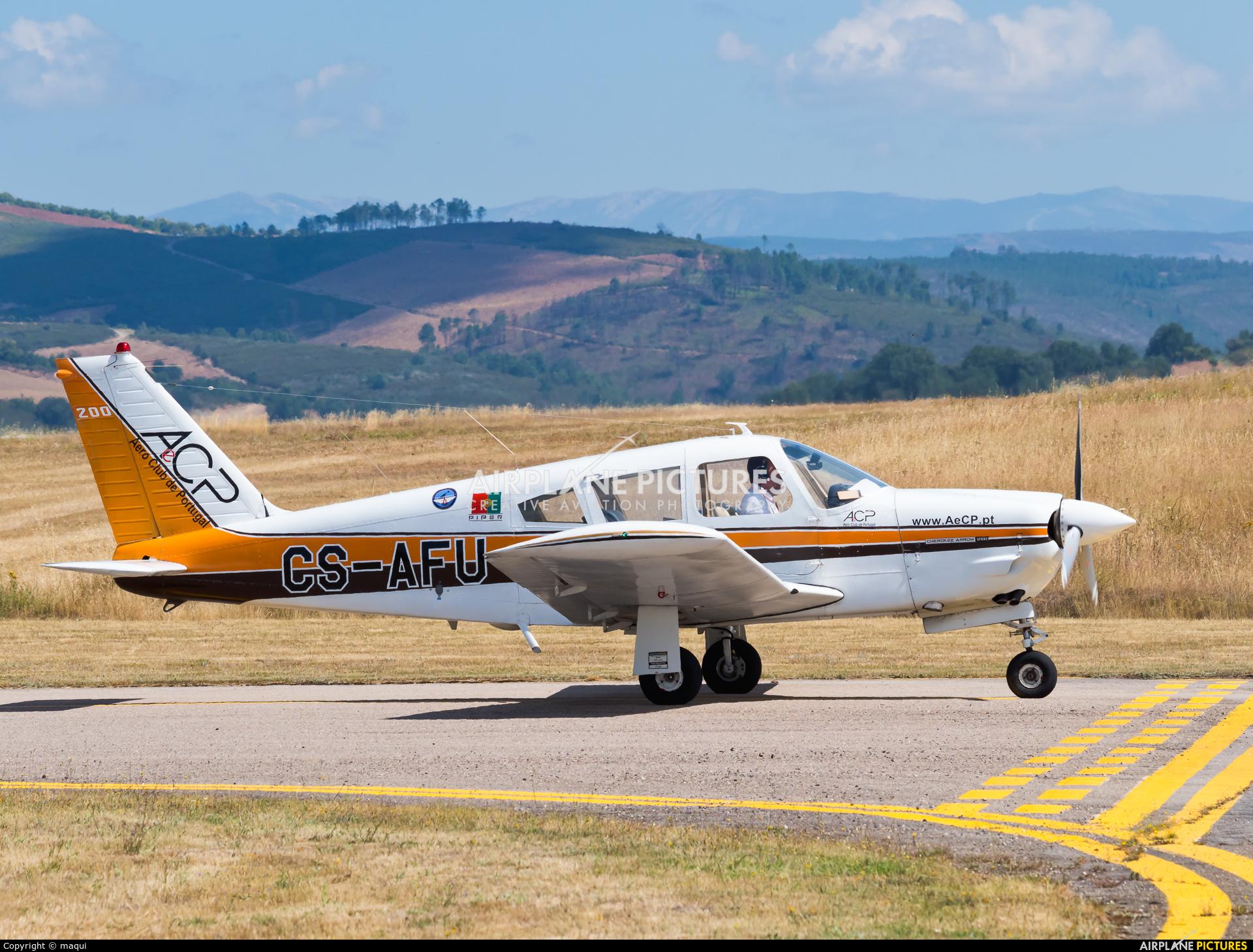 Private CS-AFU aircraft at Bragança