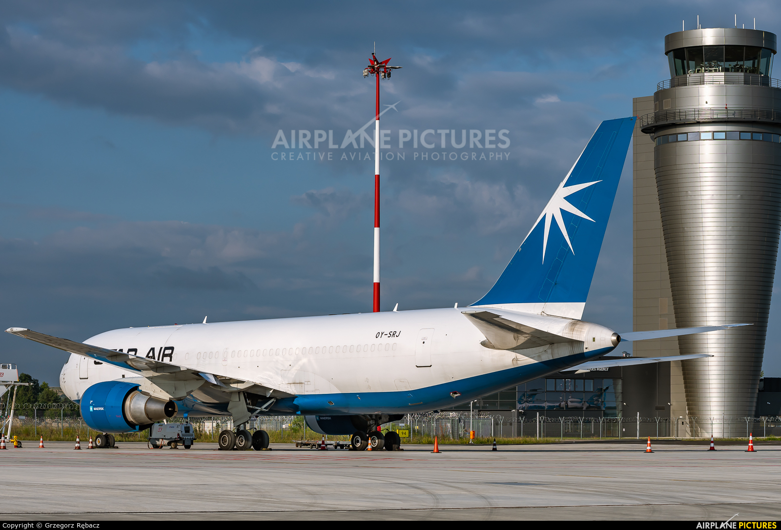 Star Air Freight OY-SRJ aircraft at Katowice - Pyrzowice