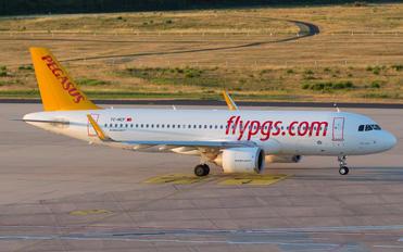 TC-NCF - Pegasus Airbus A320 NEO