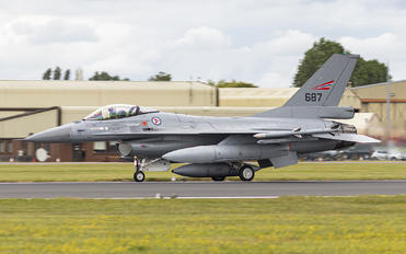 687 - Norway - Royal Norwegian Air Force General Dynamics F-16A Fighting Falcon