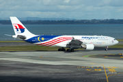 Malaysia A330 wears country's promoting livery title=