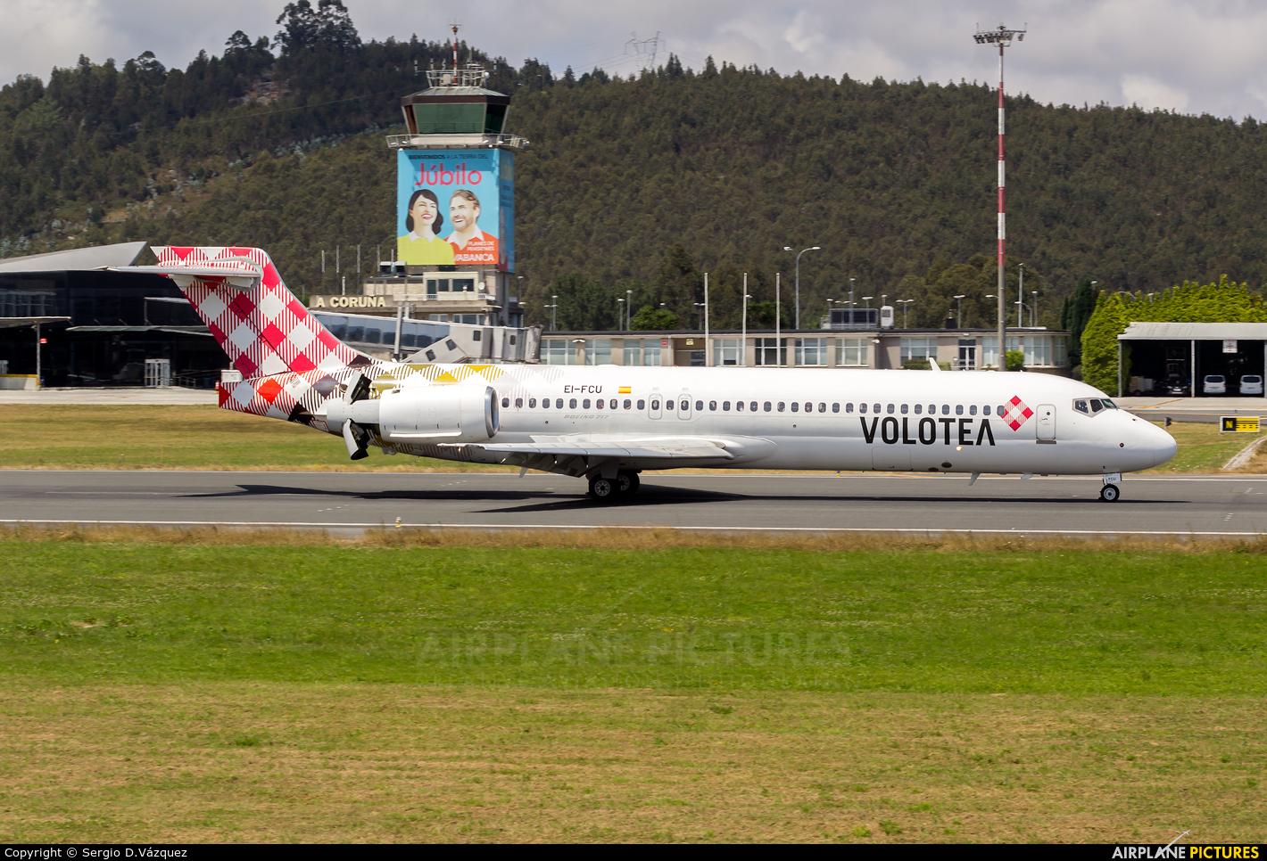 Volotea Airlines EI-FCU aircraft at La Coruña