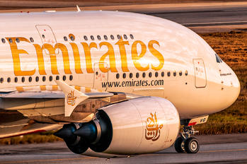 A6-EVG - Emirates Airlines Airbus A380