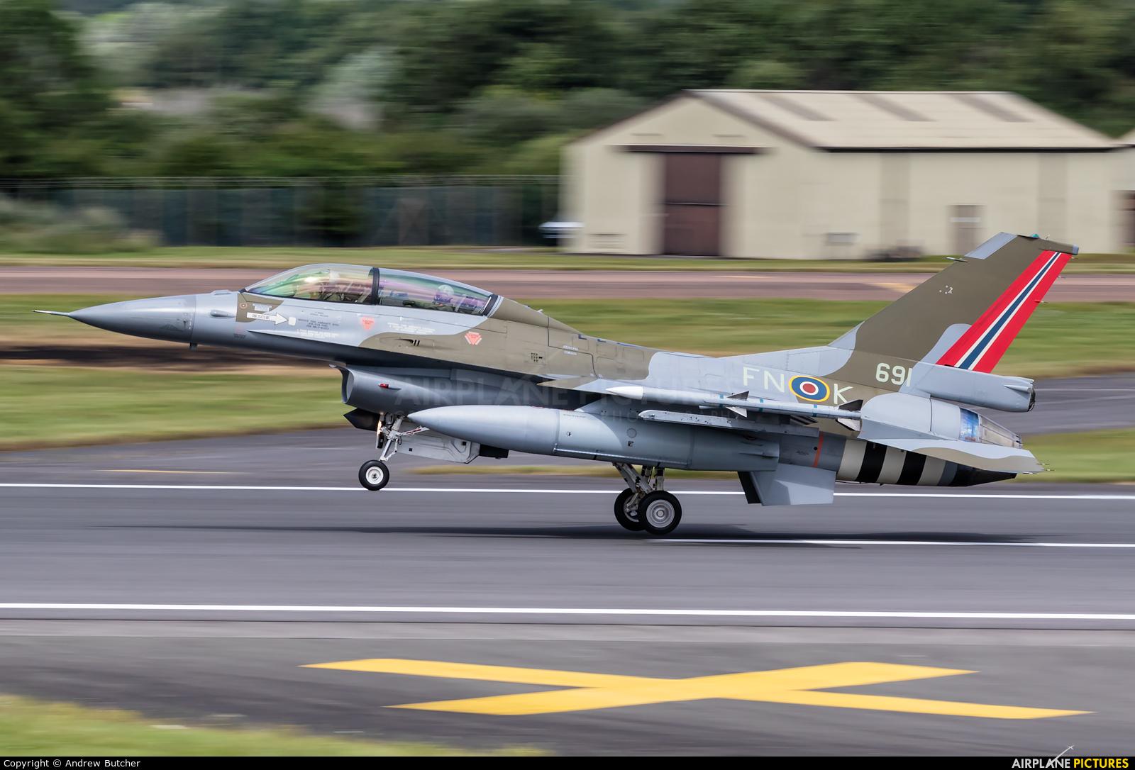 Norway - Royal Norwegian Air Force 691 aircraft at Fairford