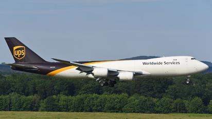 N608UP - UPS - United Parcel Service Boeing 747-8F