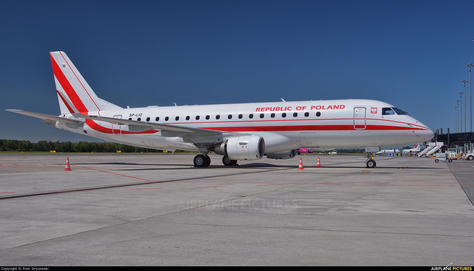 Poland - Government SP-LIG aircraft at Wrocław - Copernicus