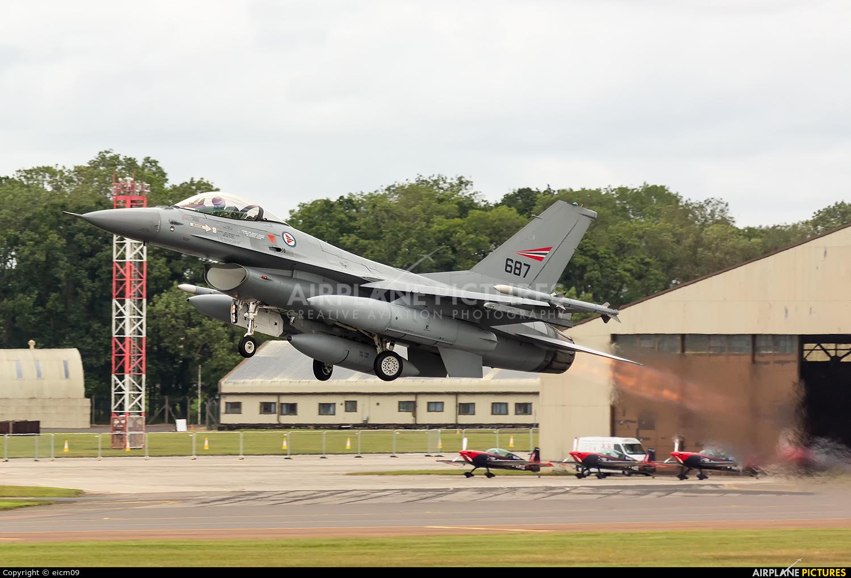 Norway - Royal Norwegian Air Force 687 aircraft at Fairford