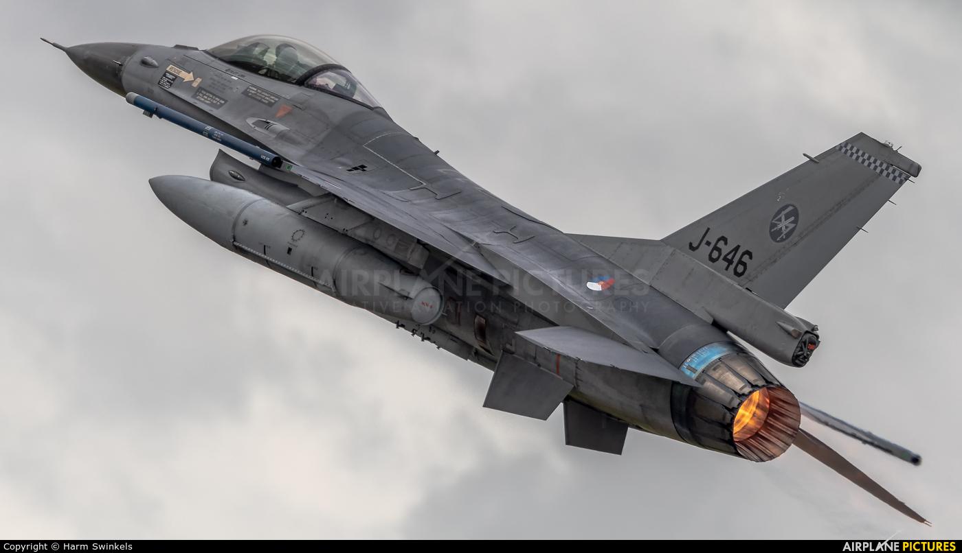 Netherlands - Air Force J-646 aircraft at Fairford