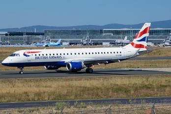 G-LCAB - British Airways - City Flyer Embraer ERJ-190-VC-2