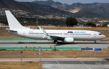 F-GZTZ - ASL Airlines Boeing 737-8K2