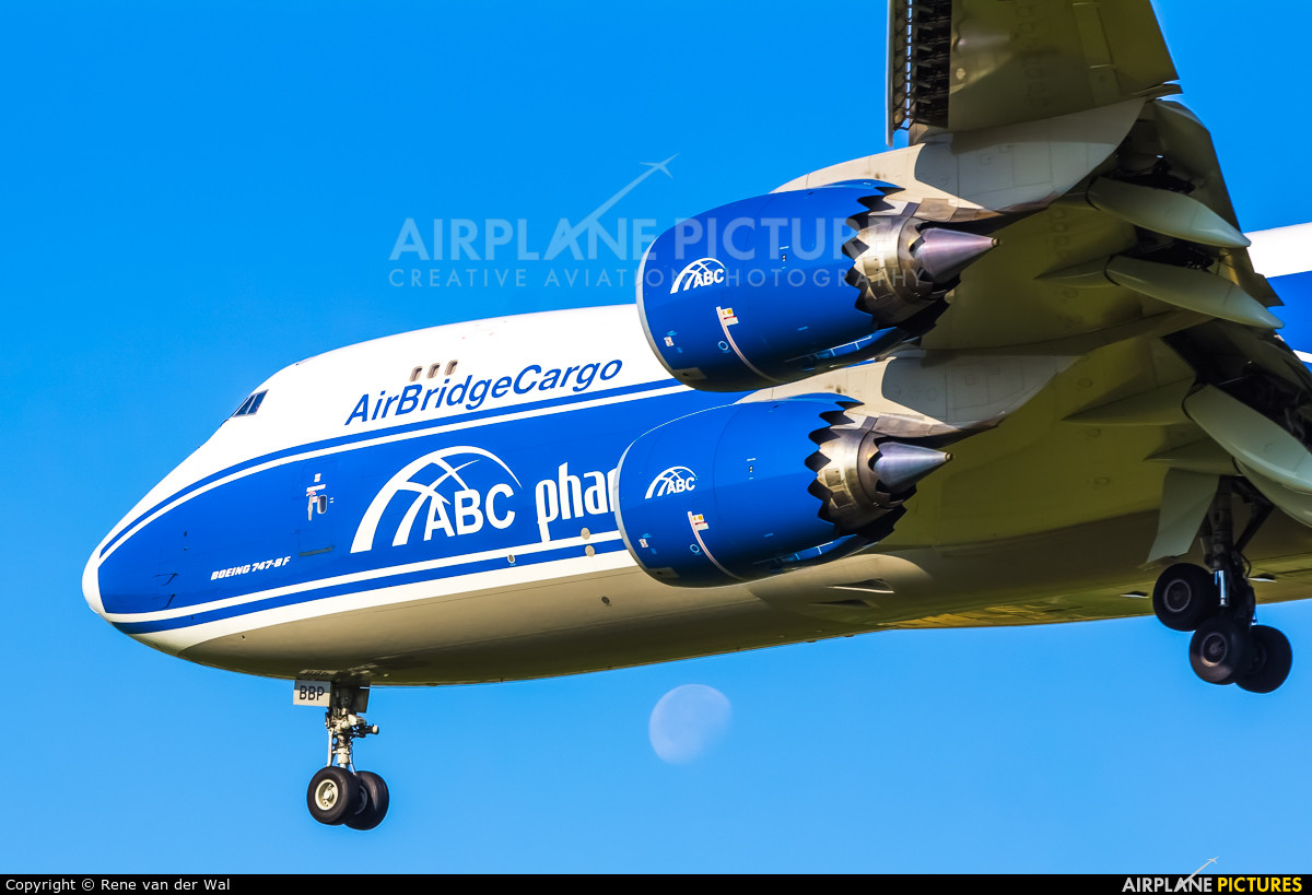 Air Bridge Cargo VP-BBP aircraft at Amsterdam - Schiphol