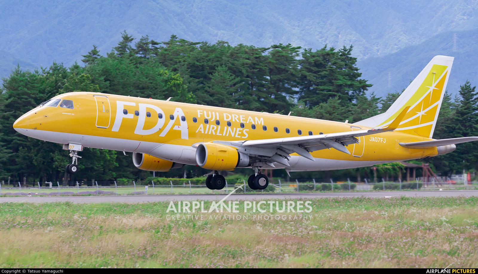 Fuji Dream Airlines JA07FJ aircraft at Shinshu - Matsumoto