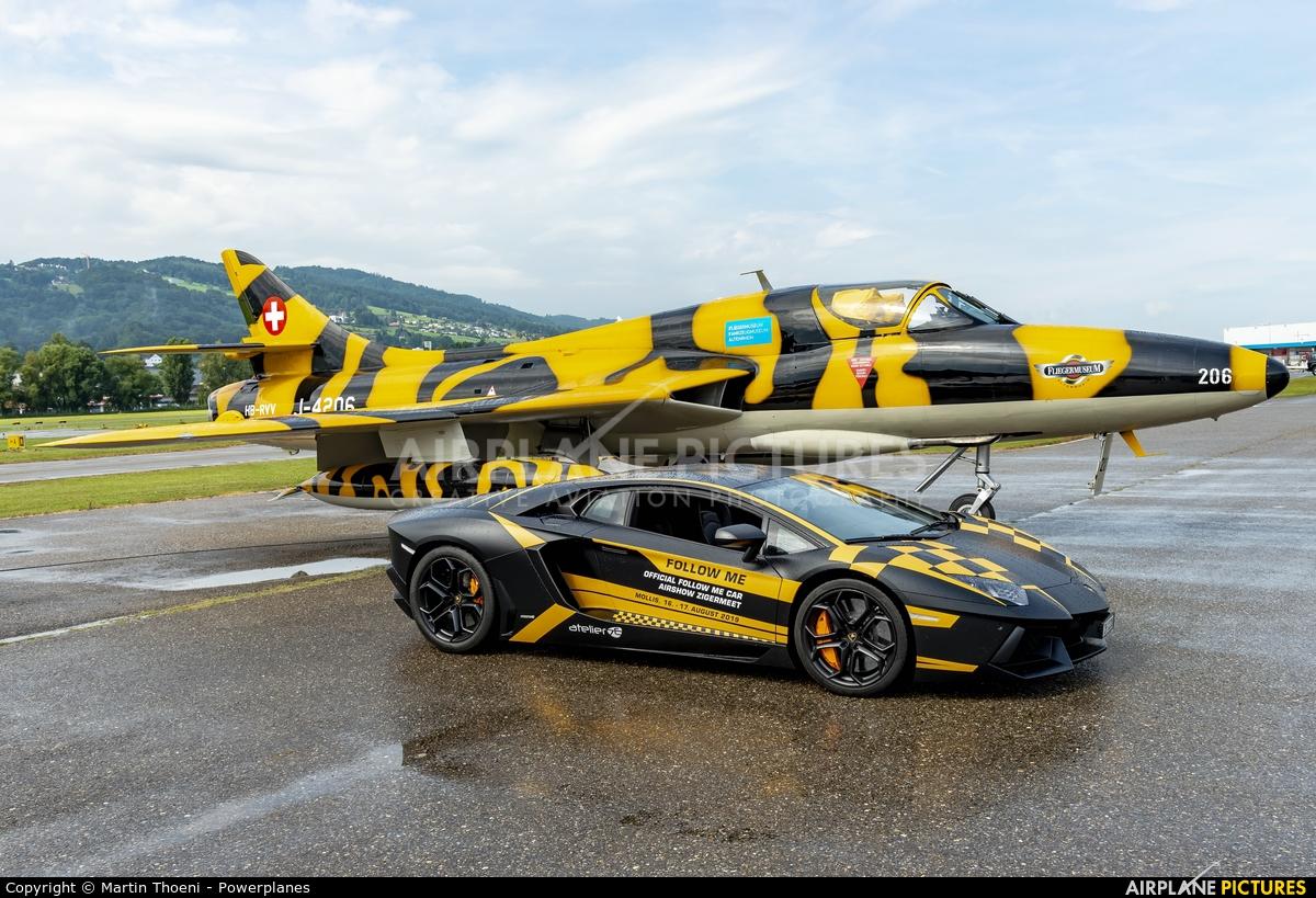 Private HB-RVV aircraft at St. Gallen - Altenrhein