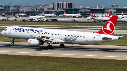 TC-JML - Turkish Airlines Airbus A321