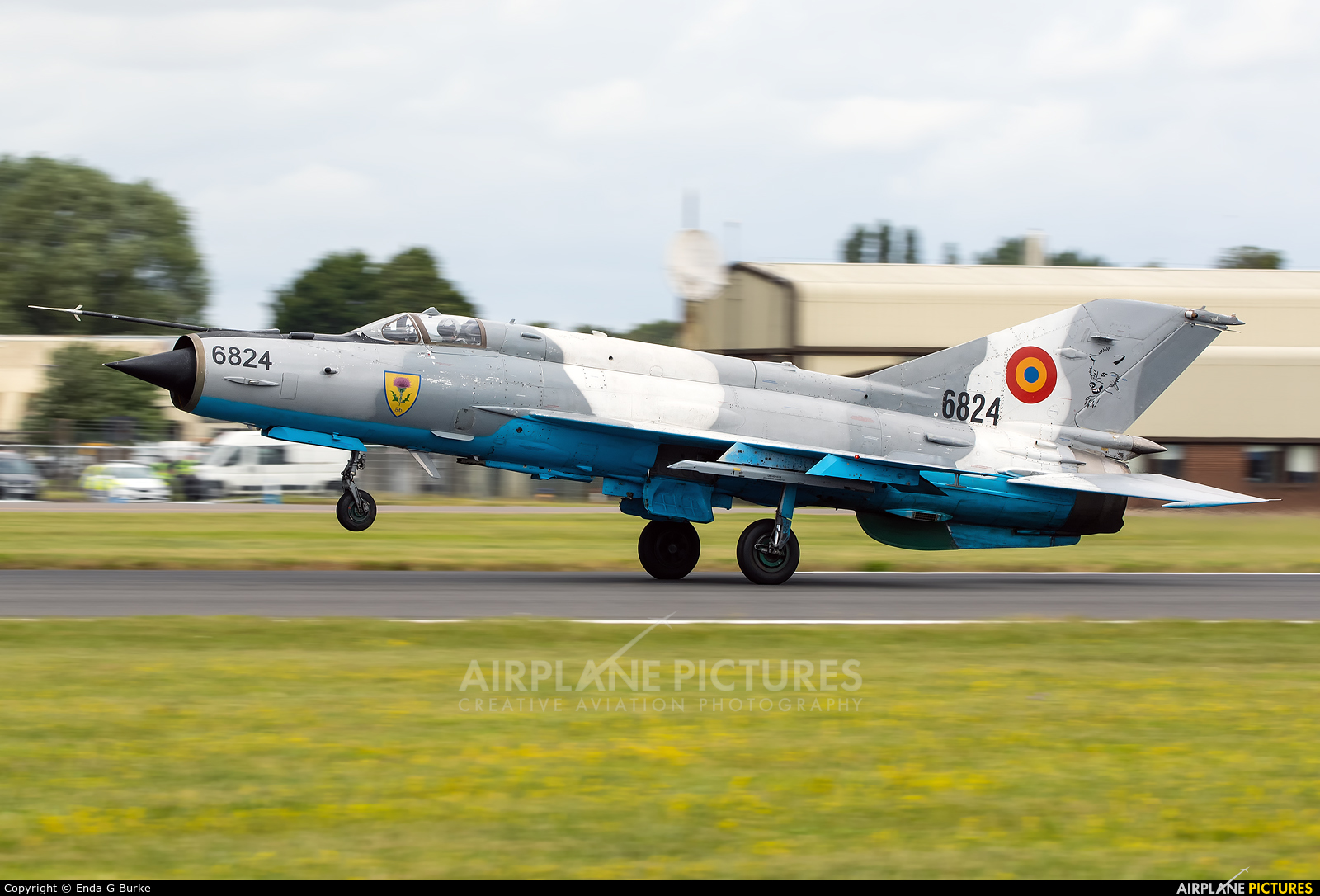 Romania - Air Force 6824 aircraft at Fairford