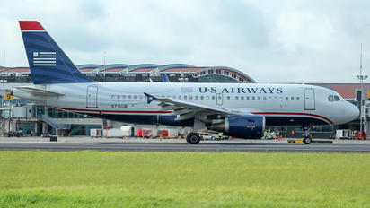 N715UW - US Airways Airbus A319