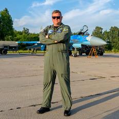 39 BLUE - Ukraine - Air Force Sukhoi Su-27