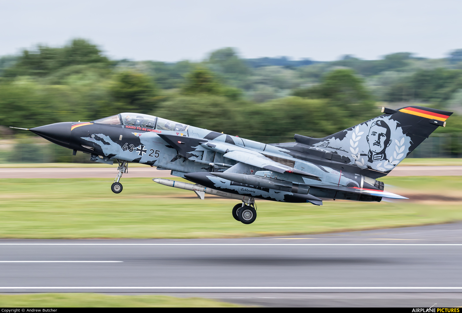 Germany - Air Force 43+25 aircraft at Fairford