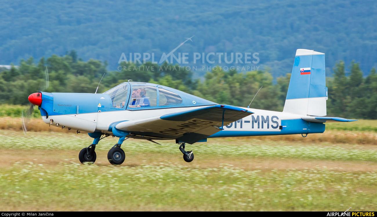 Slovensky Narodny Aeroklub OM-MMS aircraft at Dubnica nad Vahom - Slavnica