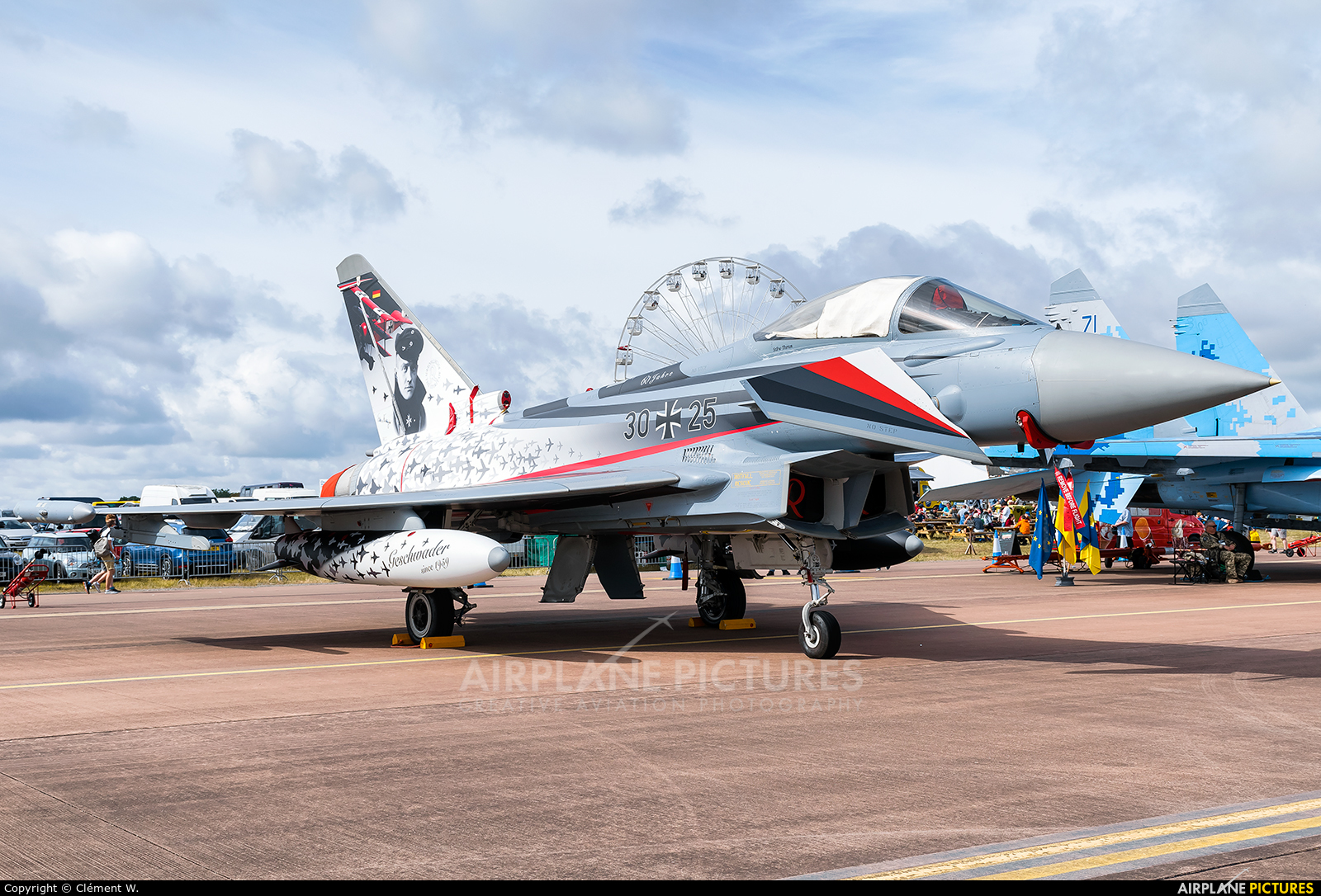 the best attitude 0815d 6c0e4 30+25 - Germany - Air Force Eurofighter Typhoon at Fairford ...