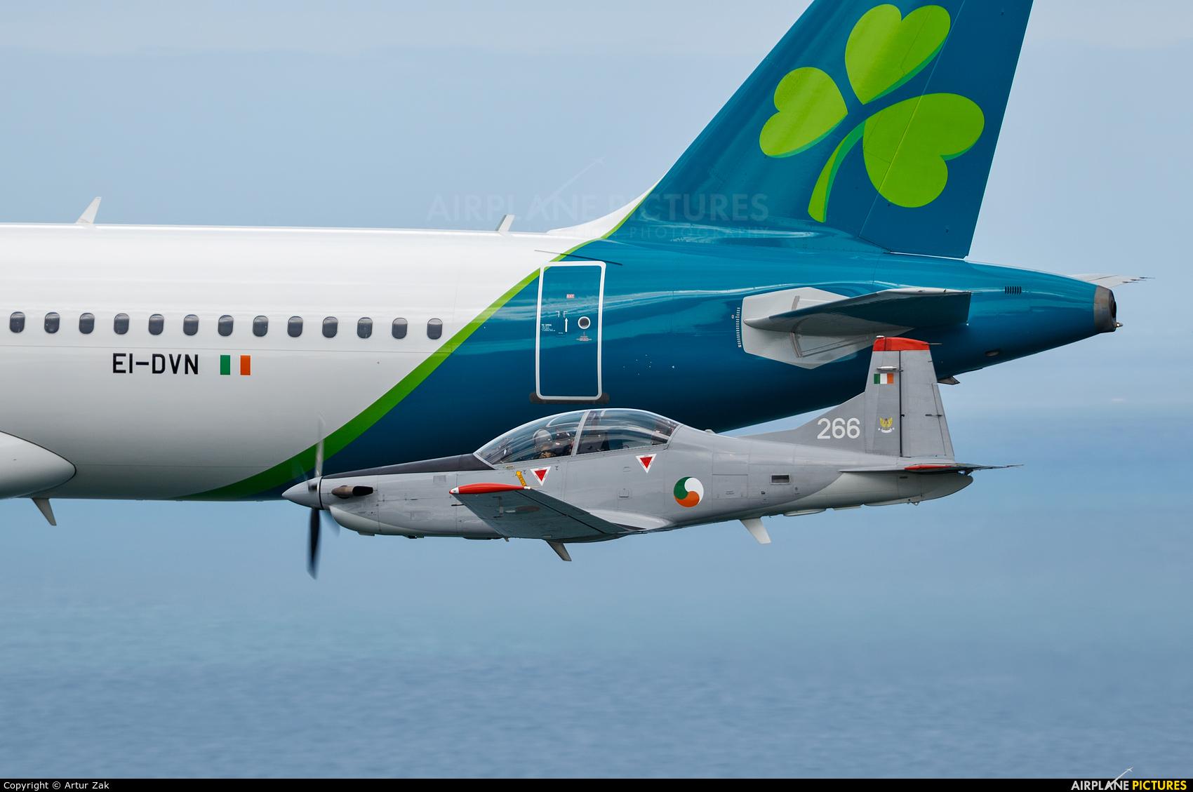 Ireland - Air Corps 266 aircraft at Bray - Off Airport
