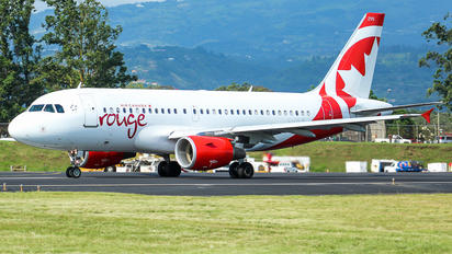 C-GSJB - Air Canada Rouge Airbus A319