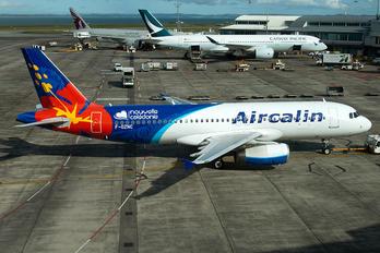 F-OZNC - Aircalin Airbus A320