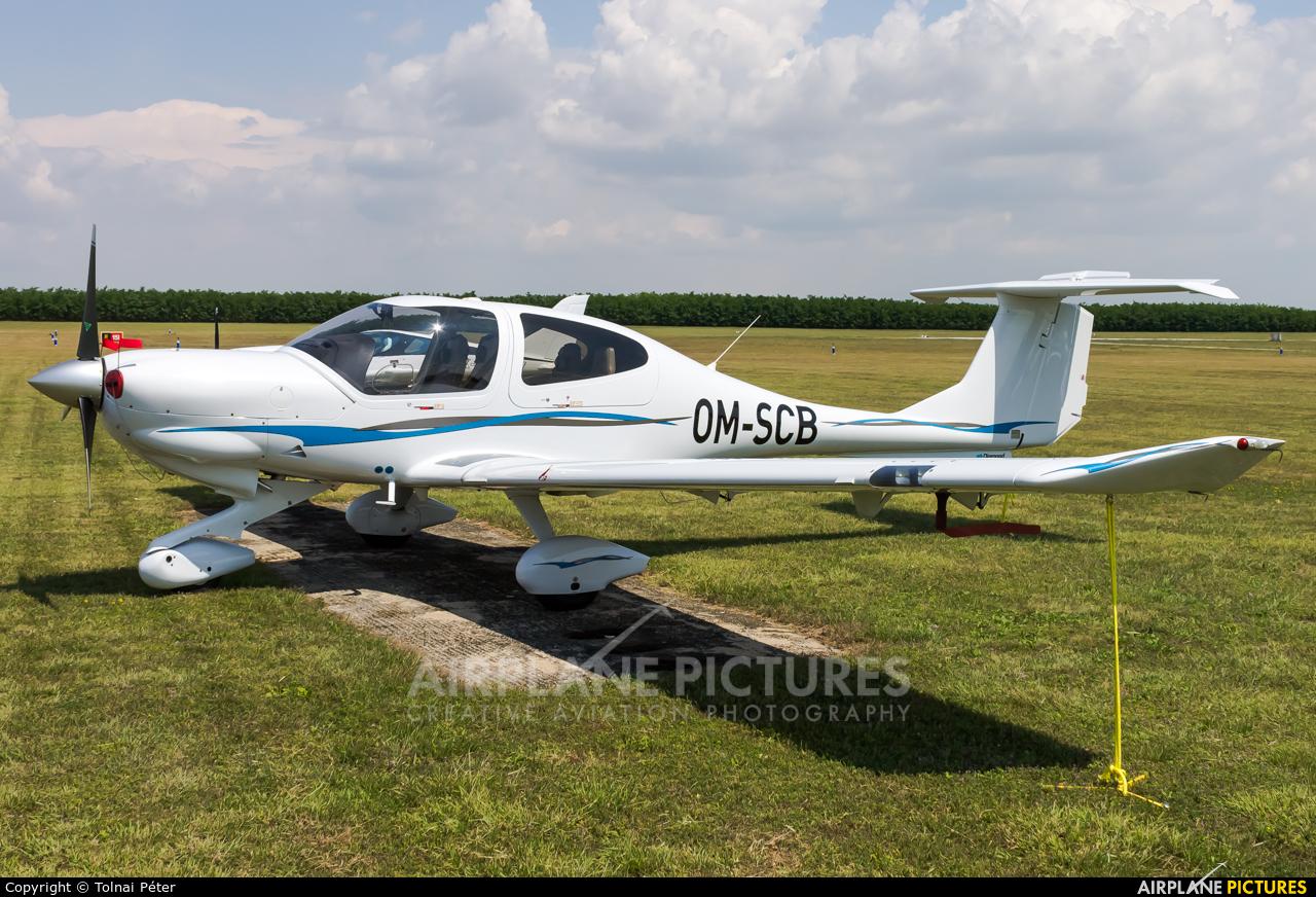 SkyService Flying School OM-SCB aircraft at Siófok-Kiliti