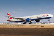 G-STBB - British Airways Boeing 777-300ER aircraft