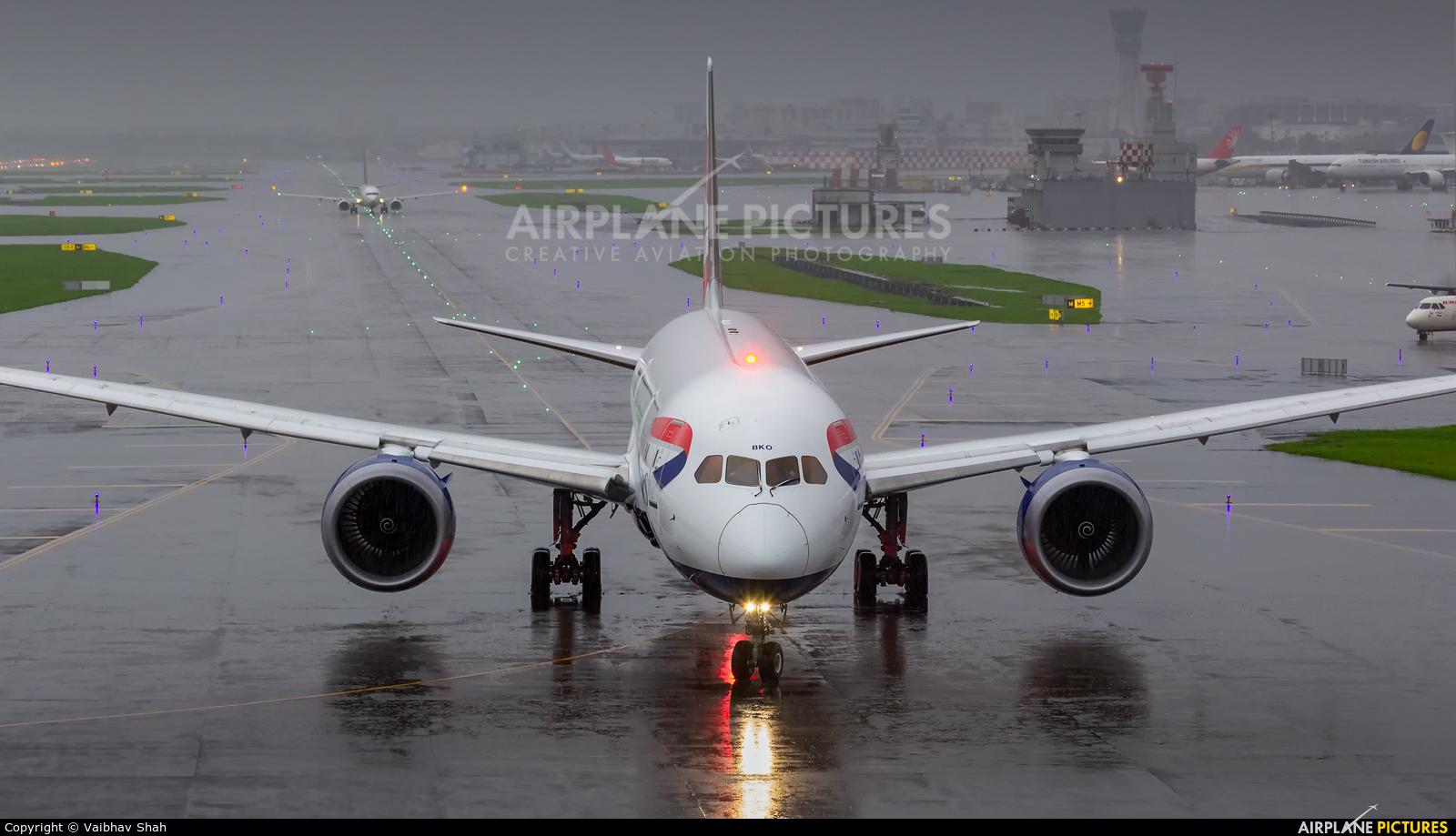 British Airways G-ZBKO aircraft at Mumbai - Chhatrapati Shivaji Intl